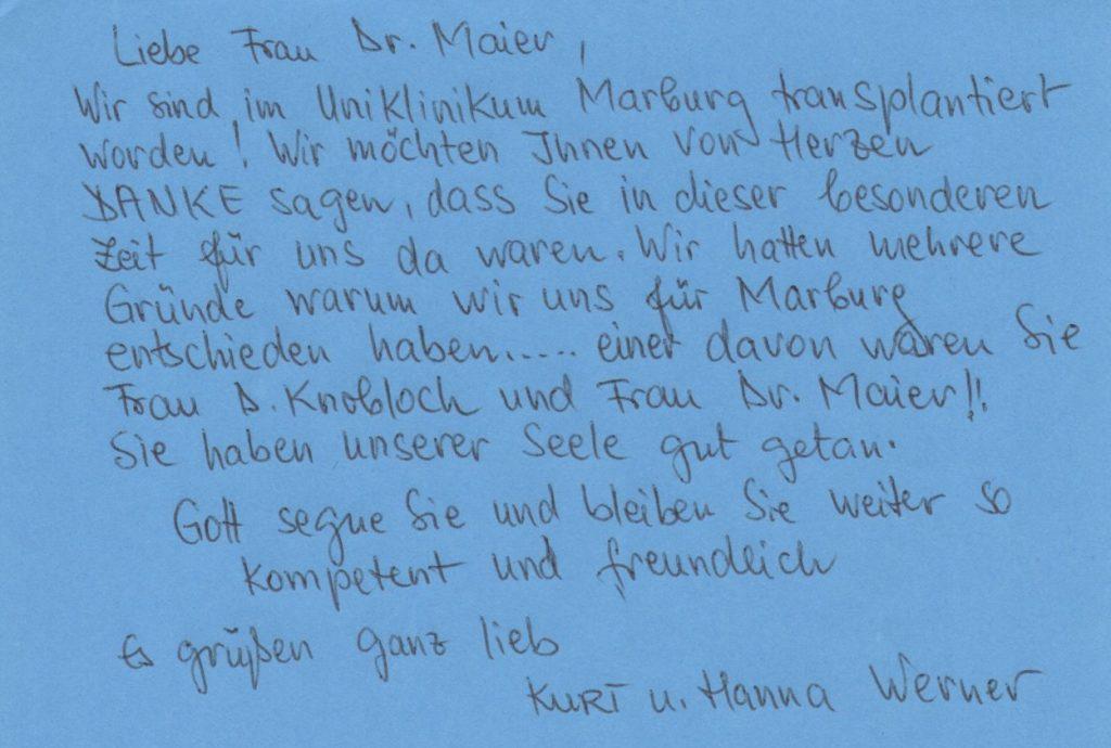 Kurt und Hanna Werner